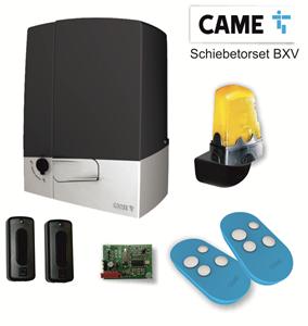 Schiebetorset CAME TYP BXV PRIVAT,Für Schiebetore bis 600 kg /10m Torlänge,Antriebsset 230/24V COMFORT LINE