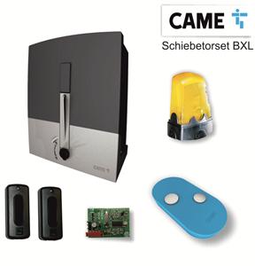Schiebetorset CAME TYP BXL PRIVAT,Für Schiebetore bis 300 kg / 6m Torlänge,Antriebsset 230/24V ECO Line