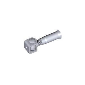 Anschweißband NIKO Betonanker M20,Stahl Anschweißband, Drehteil verzinkt,,Betonanker verzinkt  M20x94