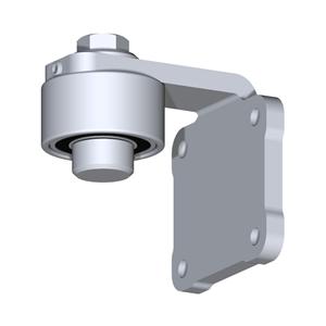Anschweißband SET NIKO Premium Stahl VZ,Hochleistungstorband für schwere Tore,mit intensiven Nutzungszyklen