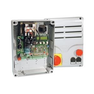 Motorsteuerung CAME Sektionaltorantrieb,Zugleistung 120N, Torhöhe bis 5,5m,im Gehäuse 240x320mm.