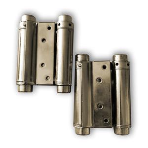 Zeus Pendeltürbänder,max Belastung per Türband: 22 kg,Türblatt 25 mm-30 mm, H 85 mm