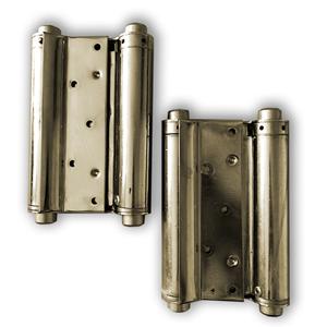 Zeus Pendeltürbänder,max Belastung per Türband: 55 kg,Türblatt  40 mm-45 mm, H 150 mm