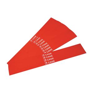 Packung mit 20, roten Reflexionsaufklebern,