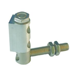 Torband NIKO Typ CA100,Aluminium / Edelstahl Torband,,leichte Ausführung für Drehtüren.