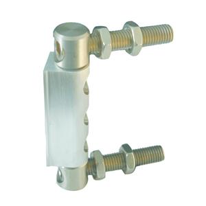 Torband NIKO Typ CA200,Aluminium / Edelstahl Torband,,mittelschwere Ausführung für Drehtüren