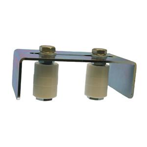 Einlaufgabel NIKO Typ 095L,für Tore bis 900kg/200mm Rahmenstärke,Obere Einlaufführung mit KS Rollen
